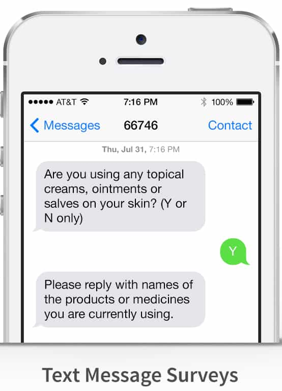 Clinical Trial Patient Surveys via SMS: Measuring Satisfaction, Participation Interest, and More in Clinical Trials