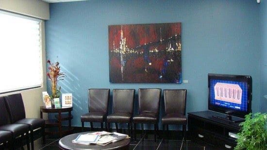 Impeccable waiting room to increase clinical trial patient retention