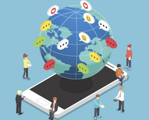 Global Patient Engagement via Text Messaging
