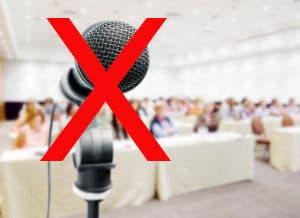 no-mics-at-corporate-meetings